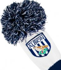 Official West Bromwich Albion Pompom Fairway Wood Headcover
